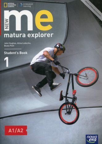 New Matura Explorer 1. Szkoła ponadgimnazjalna. - okładka podręcznika