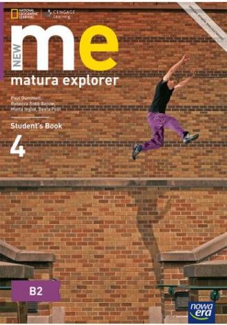 New Matura Explorer 4. Szkoła ponadgimnazjalna. - okładka podręcznika