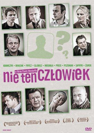 Nie ten człowiek  (DVD) - okładka filmu