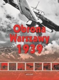 Obrona Warszawy 1939 - okładka książki