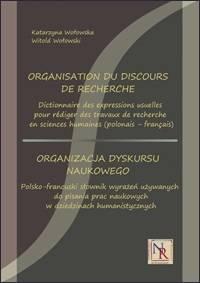 Organizacja dyskursu naukowego. - okładka podręcznika