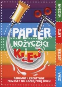 Papier, nożyczki i klej - okładka książki