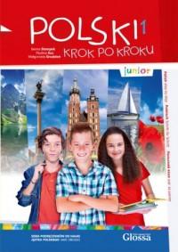 Polski krok po kroku - junior 1 - okładka podręcznika