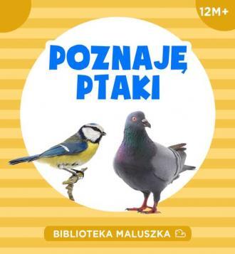 Poznaję ptaki - okładka książki