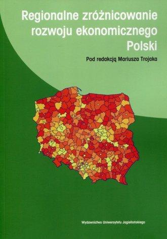 Regionalne zróżnicowanie rozwoju - okładka książki