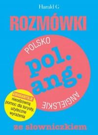Rozmówki polsko-angielskie ze słowniczkiem - okładka podręcznika