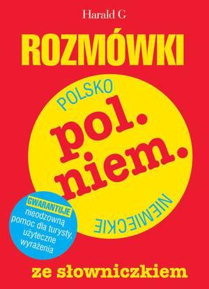 Rozmówki polsko-niemieckie ze słowniczkiem - okładka podręcznika