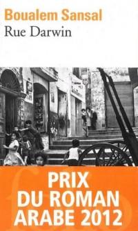 Rue Darwin - okładka książki