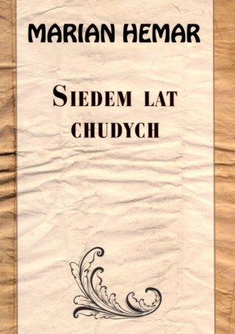 Siedem lat chudych - okładka książki