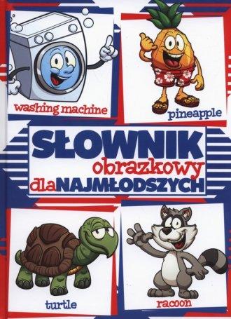 Słownik obrazkowy dla najmłodszych - okładka podręcznika