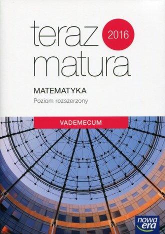 Teraz matura 2017. Matematyka. - okładka podręcznika