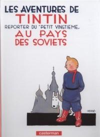 Tintin reporter dupetit vingtieme au pays des soviets - okładka książki