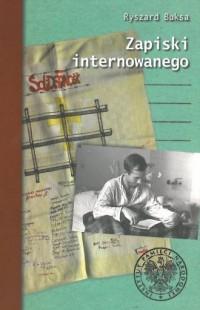 Zapiski internowanego - okładka książki