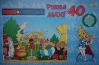 Asteriks i Obeliks. Magiczny napój (puzzle maxi 40-elem.) - zdjęcie zabawki, gry