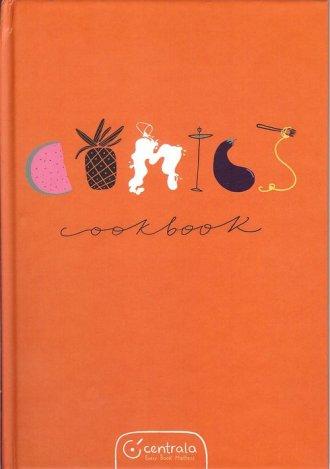Comics cookbook - okładka książki