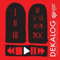 Dekalog - pudełko audiobooku