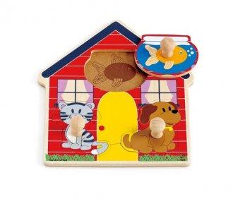 Domek zwierząt - zdjęcie zabawki, gry