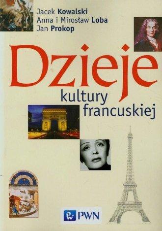 Dzieje kultury francuskiej - okładka książki