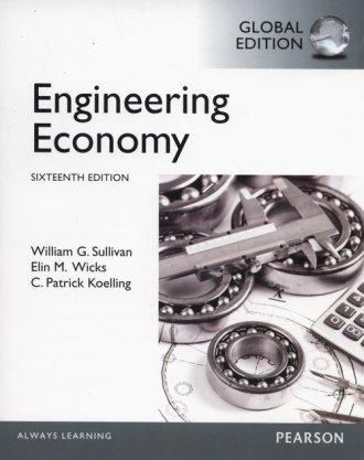 Engineering Economy - okładka książki