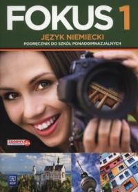 Fokus 1. Podręcznik (+ CD) - okładka podręcznika