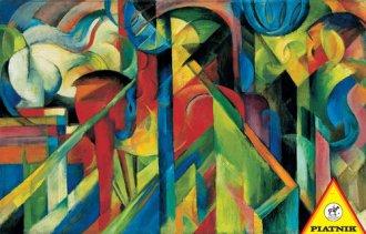 Franz Marc. Stajnie (puzzle 1000-elem.) - zdjęcie zabawki, gry