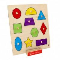 Geometryczne puzzle - zdjęcie zabawki, gry