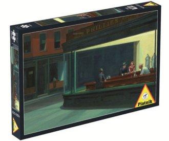 Hopper. Nighthawks (puzzle 1000-elem.) - zdjęcie zabawki, gry