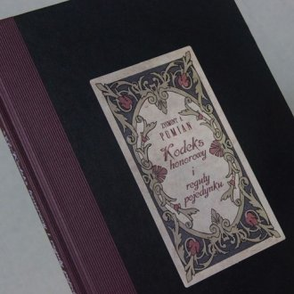 Kodeks honorowy i reguły pojedynku - okładka książki