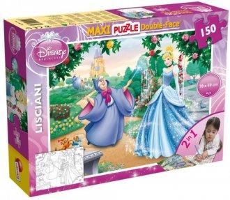 Kopciuszek (puzzle dwustronne maxi - zdjęcie zabawki, gry