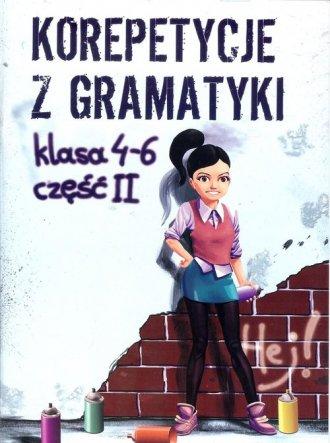 Korepetycje z gramatyki . Klasy - okładka podręcznika
