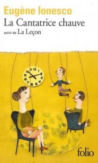 La Cantatrice chauve - La Lecon - okładka książki