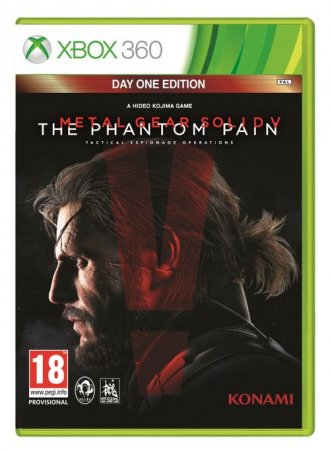 Metal Gear Solid v: the Phantom - pudełko programu