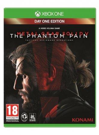 Metal Gear Solid v: The Phantom - pudełko programu