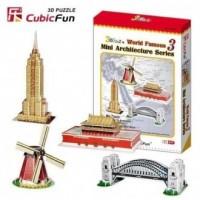 Mini architektura (puzzle 3D) - zdjęcie zabawki, gry