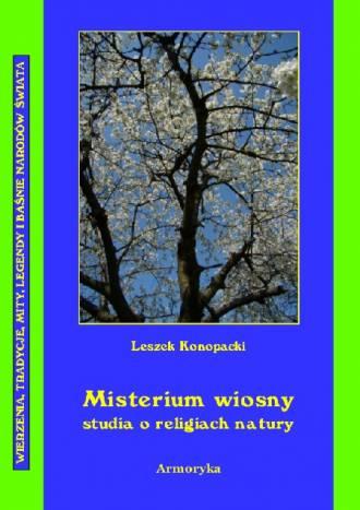 Misterium wiosny. Studia o religiach - okładka książki