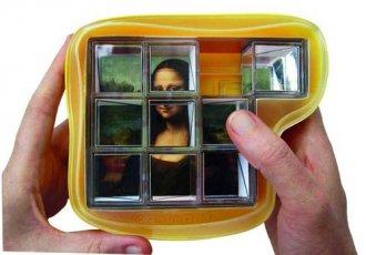 Mona Lisa (puzzle) - zdjęcie zabawki, gry