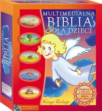 Multimedialna Biblia dla dzieci. - pudełko programu
