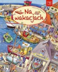 Na wakacjach - okładka książki