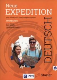Neue Expedition Deutsch. Starter. Podręcznik (+ CD) - okładka podręcznika