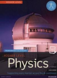 Pearson Baccalaureate Higher Level. Physics - okładka książki