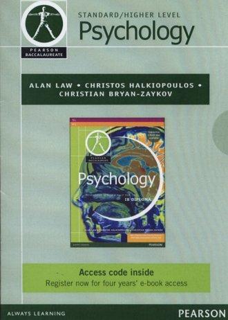 Pearson Baccalaureate. Psychology. - okładka książki
