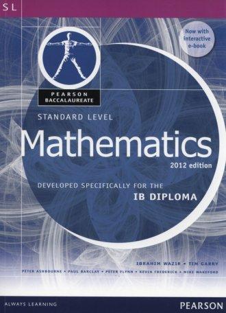 Pearson Baccalaureate Standard - okładka książki