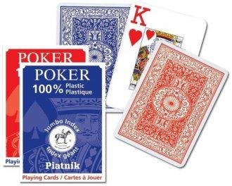 Poker (1 talia duże indeksy) - zdjęcie zabawki, gry