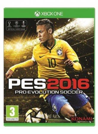 Pro Evolution Soccer 2016 (Xbox - pudełko programu