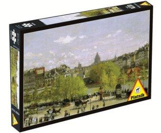 Quai du Louvre (puzzle 1000-elem.) - zdjęcie zabawki, gry
