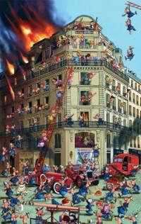 Ruyer. Straż Pożarna (puzzle 1000-elem.) - zdjęcie zabawki, gry