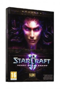 Starcraft II. Heart of the Swarm - pudełko programu