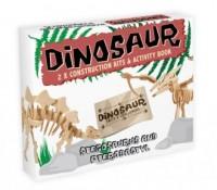 Stegosaurus and Pterodactyl. Model - zdjęcie zabawki, gry