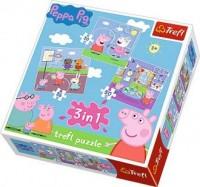 Świnka Peppa 3 w 1. Zabawa w szkole - zdjęcie zabawki, gry