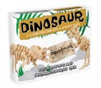 Triceratops and Tyrannosaurus Rex. Model - zdjęcie zabawki, gry